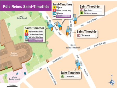 Plan de Saint Timothée 2018